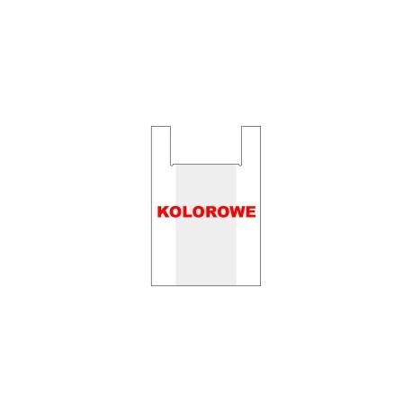 TORBA FOLIOWA TYP KOSZULKA RÓŻNE KOLORY - 009